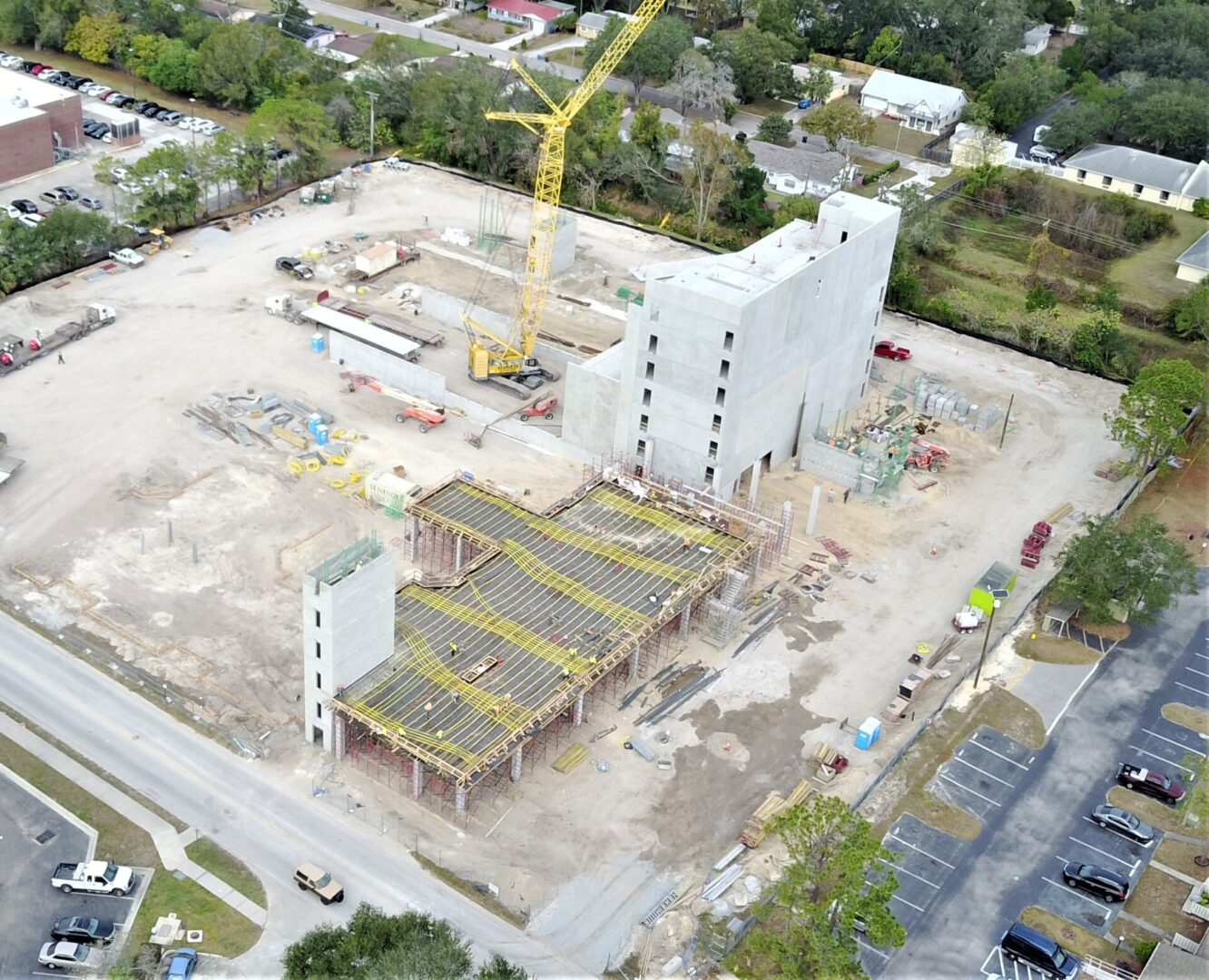 STANDARD @ TAMPA - Student Housing near USF with Parking Structure, VE Post-Tension Slab Designed